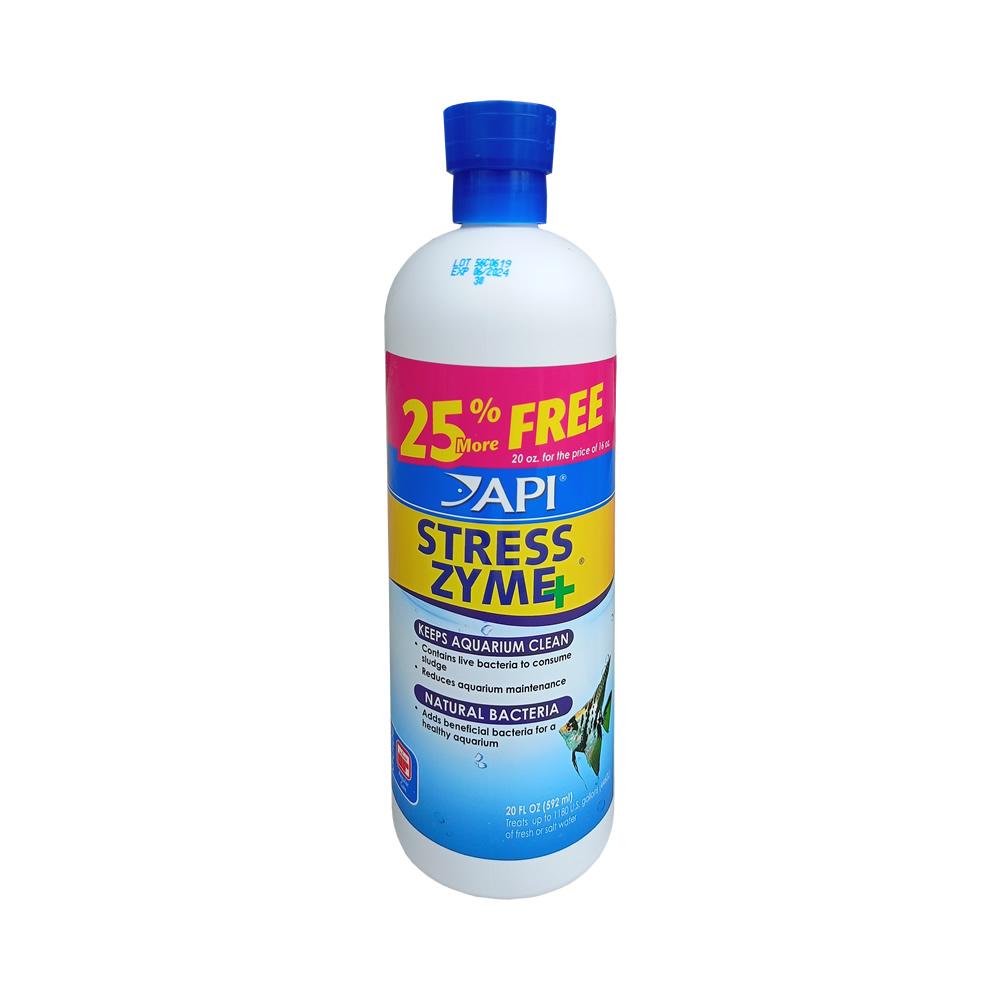 API Stress Zyme 592ml / 20oz - 25% Extra