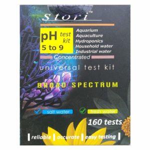 Aquatic Remedies Stori Universal PH Test Kit 160 Tests