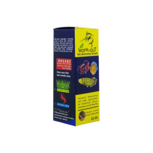 Aquatic Remedies Worm Out Deworming Medicine 60ml
