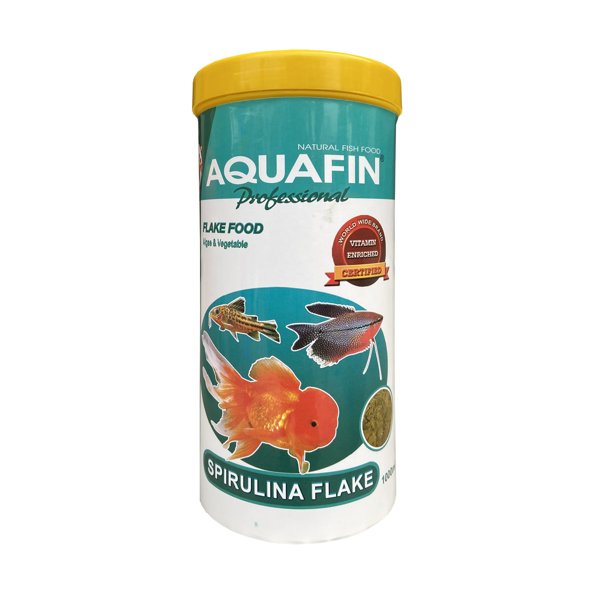 Aquafin Spirulina Flake 1000ml