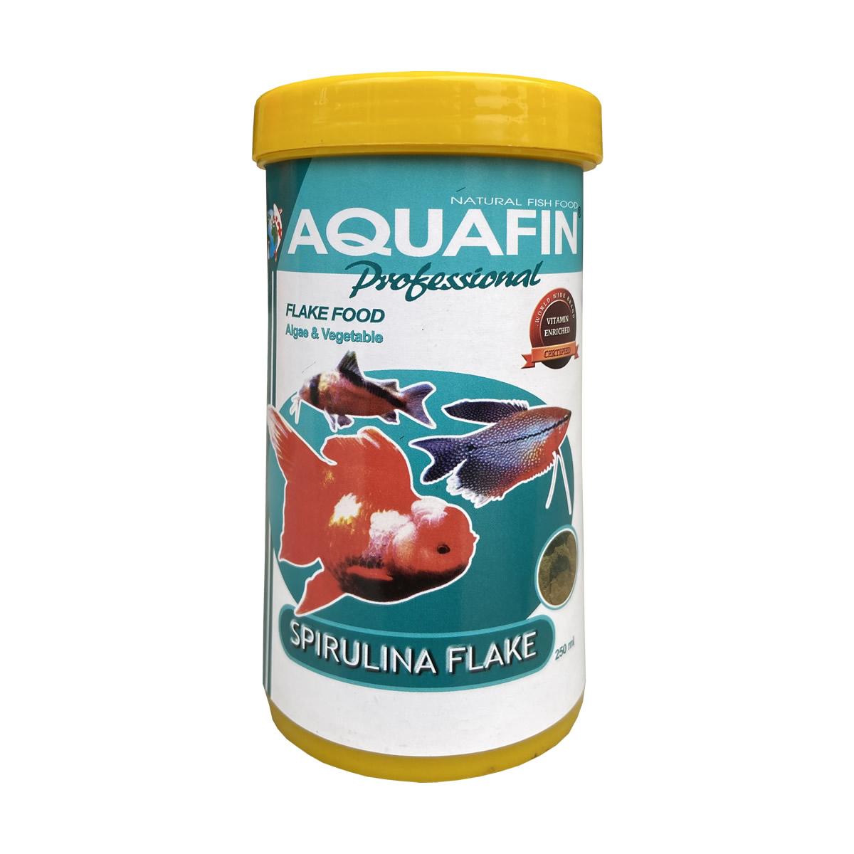 Aquafin Spirulina Flake 250ml
