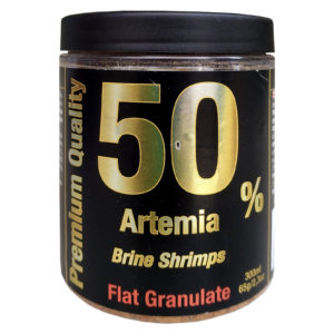 Exotica Premium Quality Atiemia BrineShrimp Flat Granulate 300ml / 65g