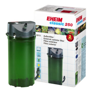 EHEIM Classic 250 - 2213 Aquarium External Canister Filter