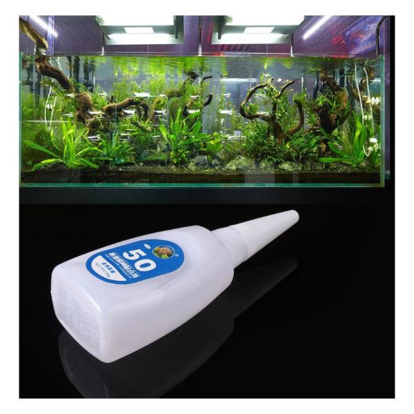 Sagar Aquarium Aquascaping Instant Glue 50g