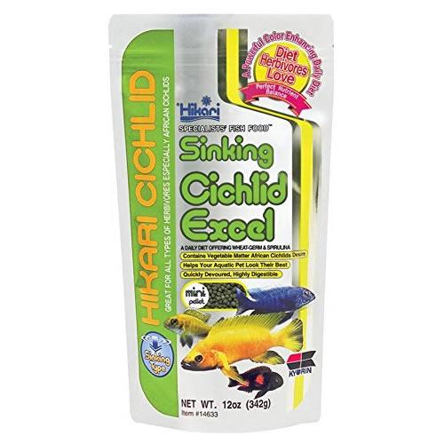 Hikari Sinking Cichlid Excel Mini 342g