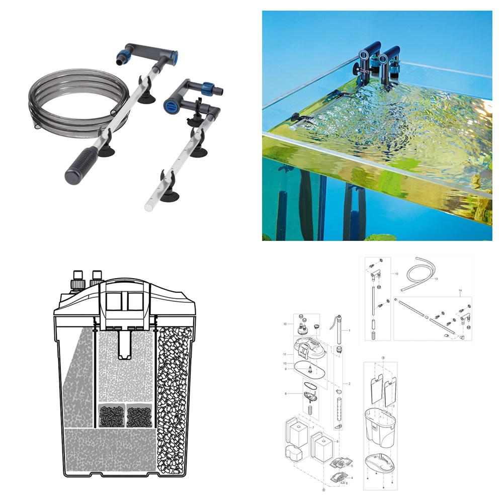 Oase FiltoSmart 300 Mini / Nano Canister filter 23W 1000 L/H