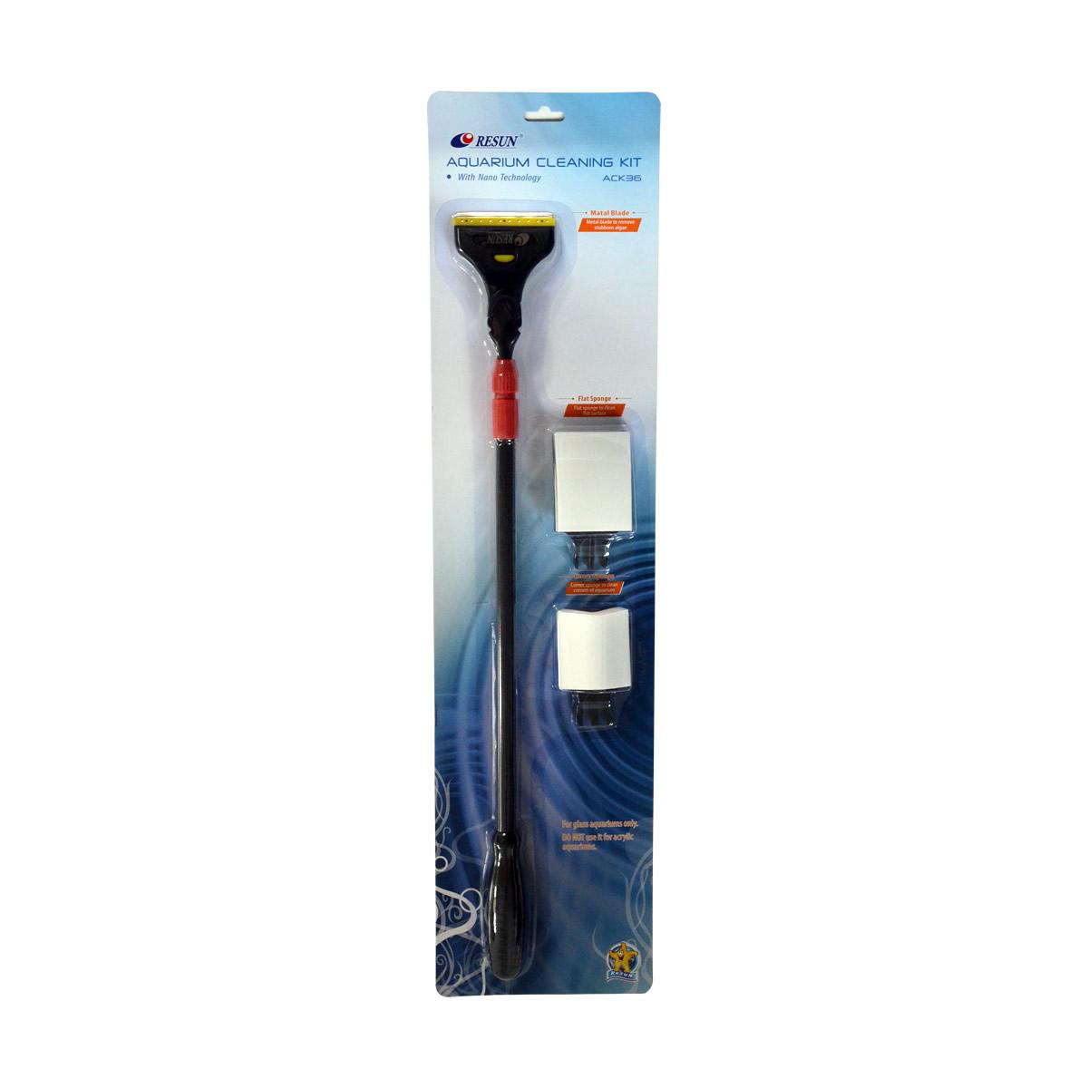 ReSun ACK36 Aquarium Cleaning Kit 36 inch Adjustable