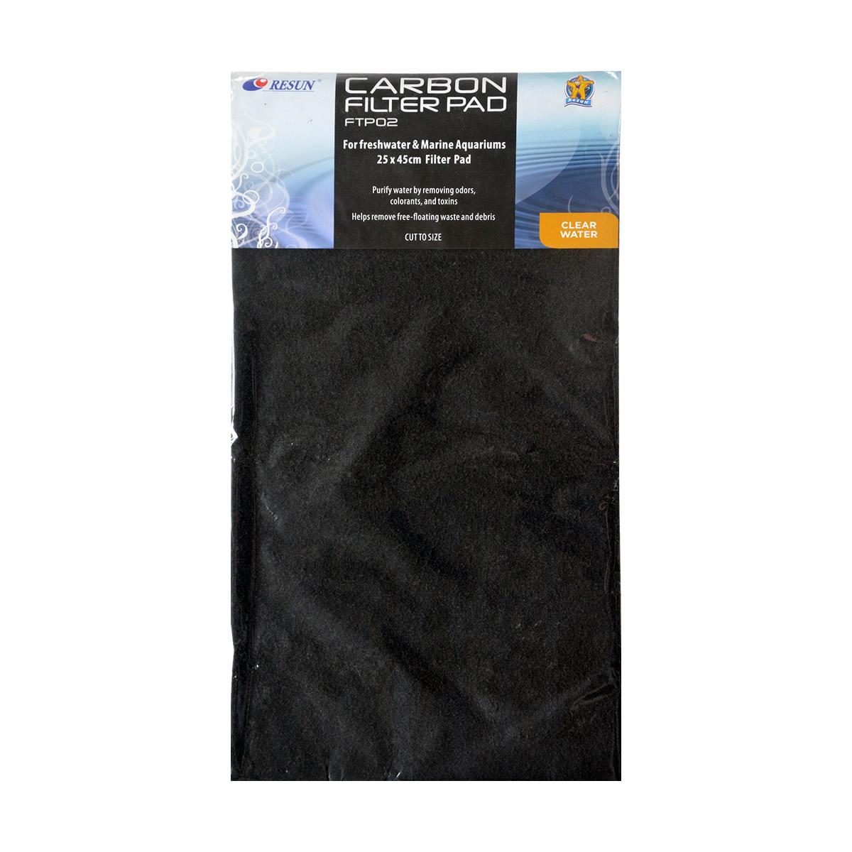 ReSun FTP02 Carbon Filter Pad 10x18 inch
