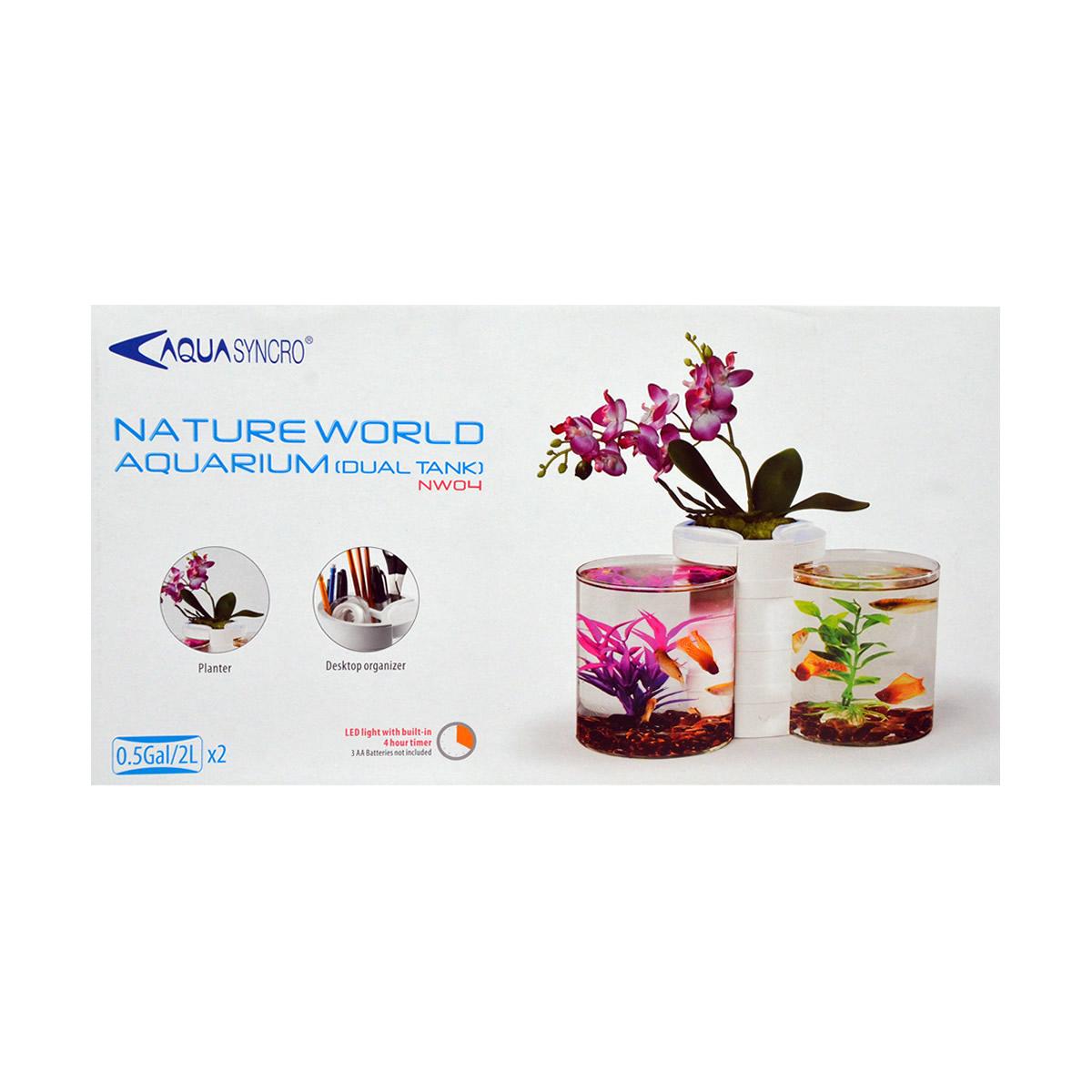 ReSun NW04 Mini / Nano Nature World Aquarium 4L