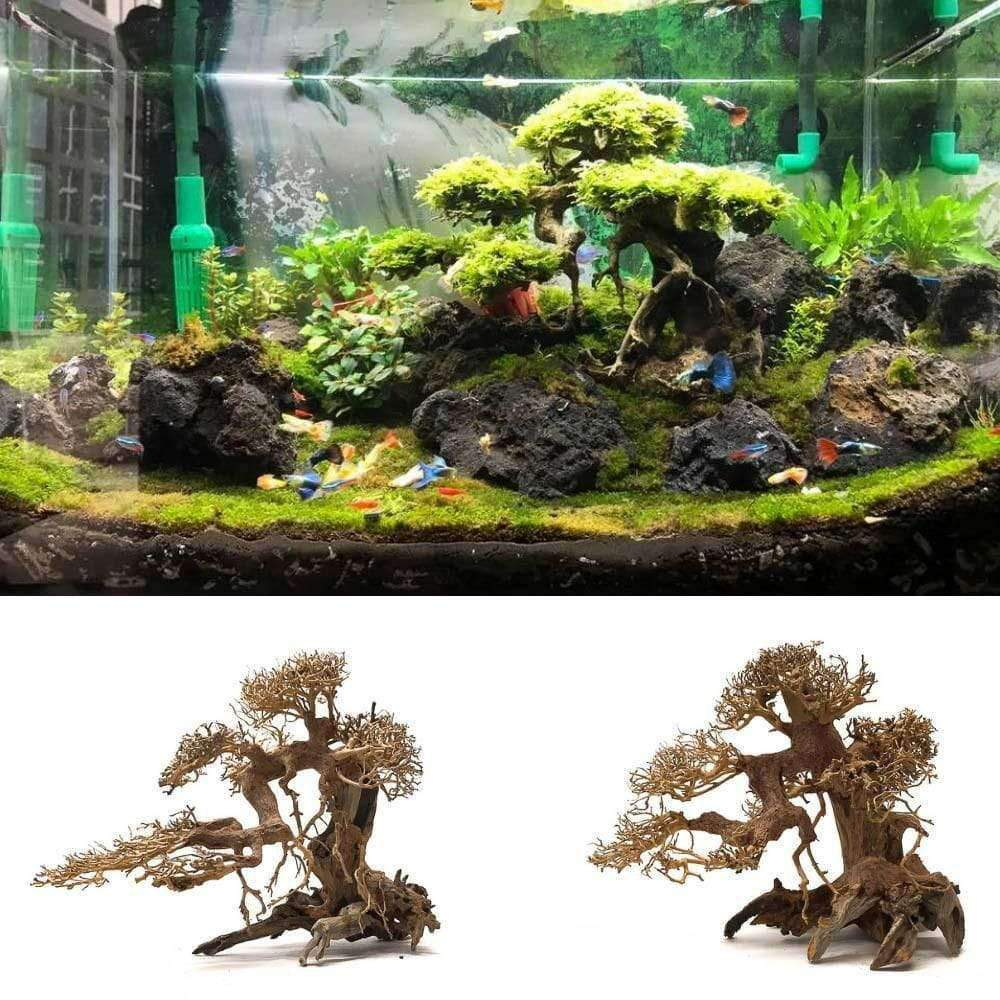 Aquarium Bonsai Tree Size L (40x30x18)