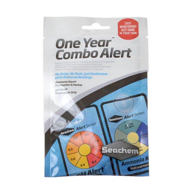 Seachem One Year Combo Alert ( Ammonia + pH )
