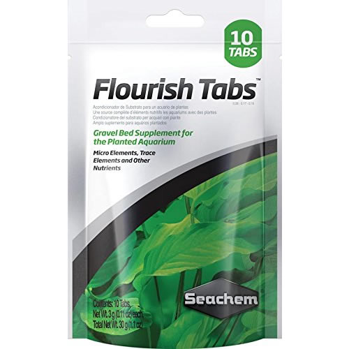 Seachem Flourish Tabs for Freshwater 10 tab pack