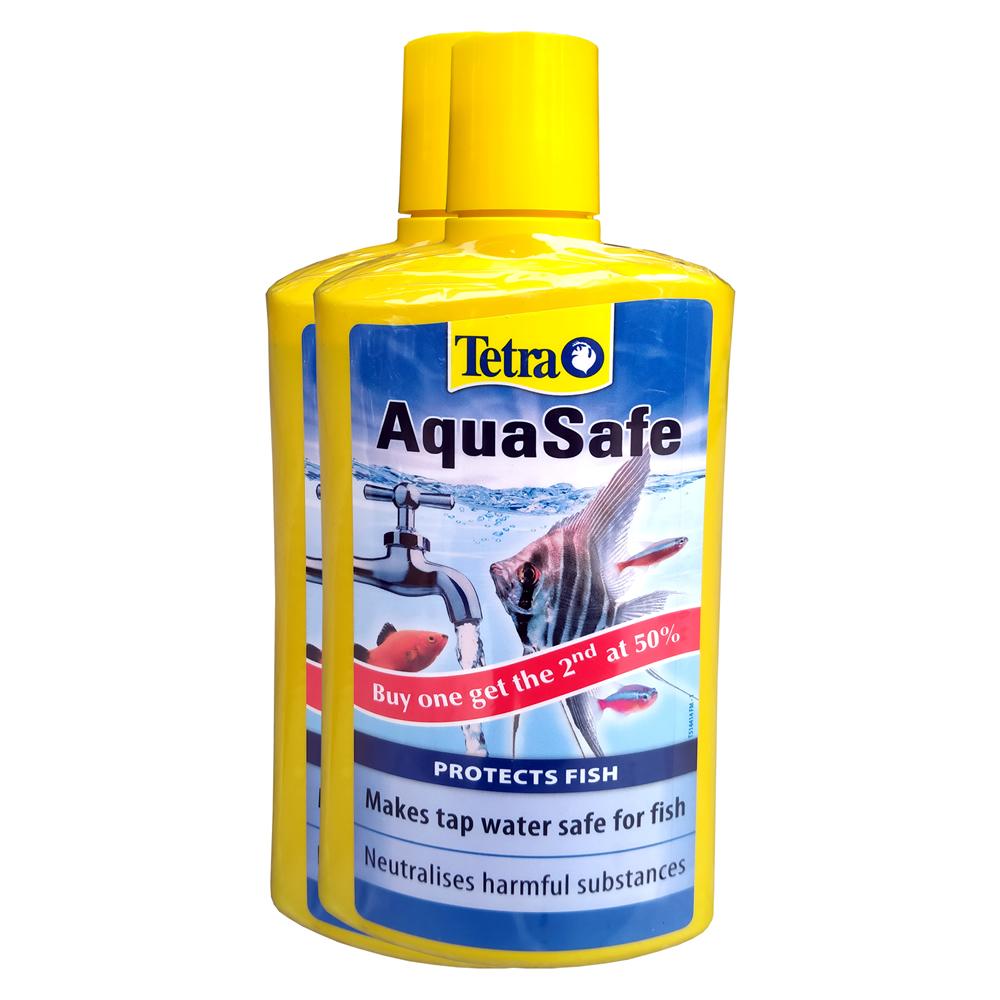 Tetra AquaSafe Pack of 2 (500ml x 2)
