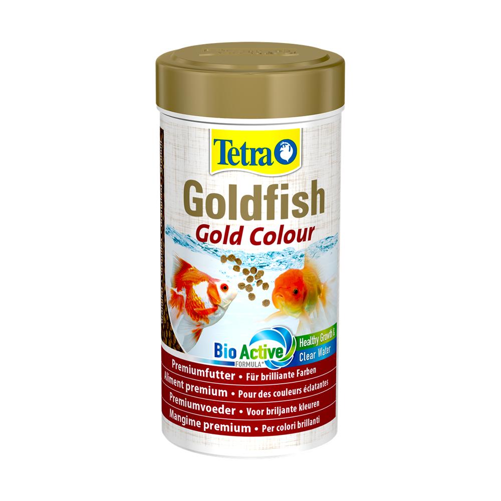 Tetra Goldfish Gold Colour 75g / 250ml