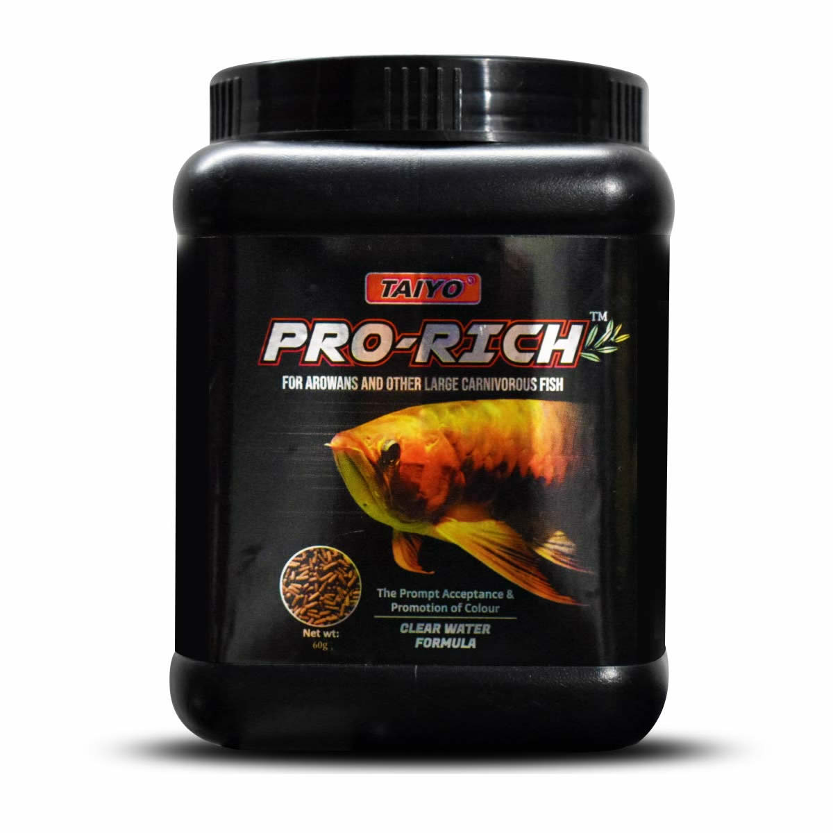 Taiyo Pro Rich for Arowana and Other Large Carnivorous Fish 280g