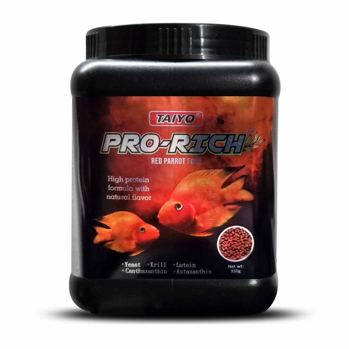 Taiyo Pro-Rich Red Parrot Food 350g